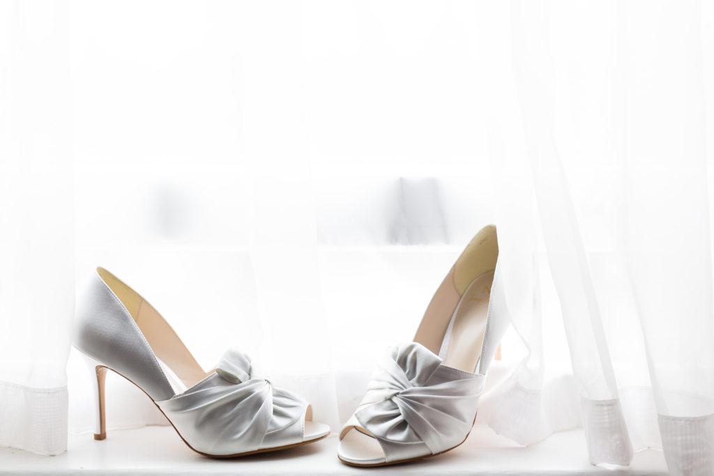 Wedding Shoes natural light