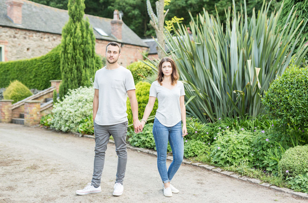 Garden Engagement Shoot : Lloyd & Katie