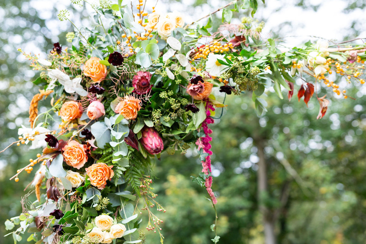 Bowcliffe hall styled shoot