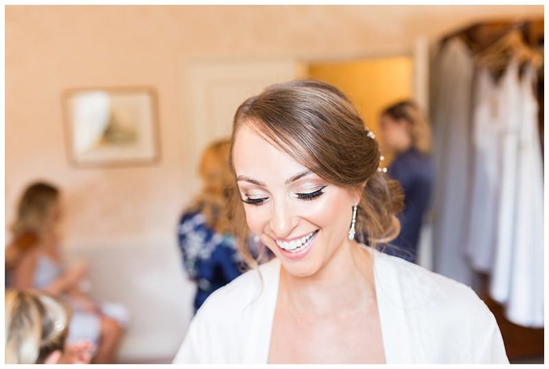 happy bride, Losehill hotel and spa wedding