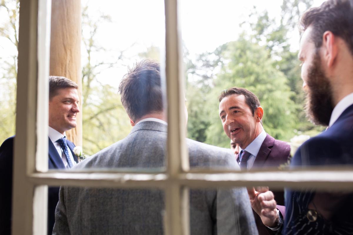 Middleton Lodge Wedding Photographer, Wedding flowers middleton lodge, hanging tulips