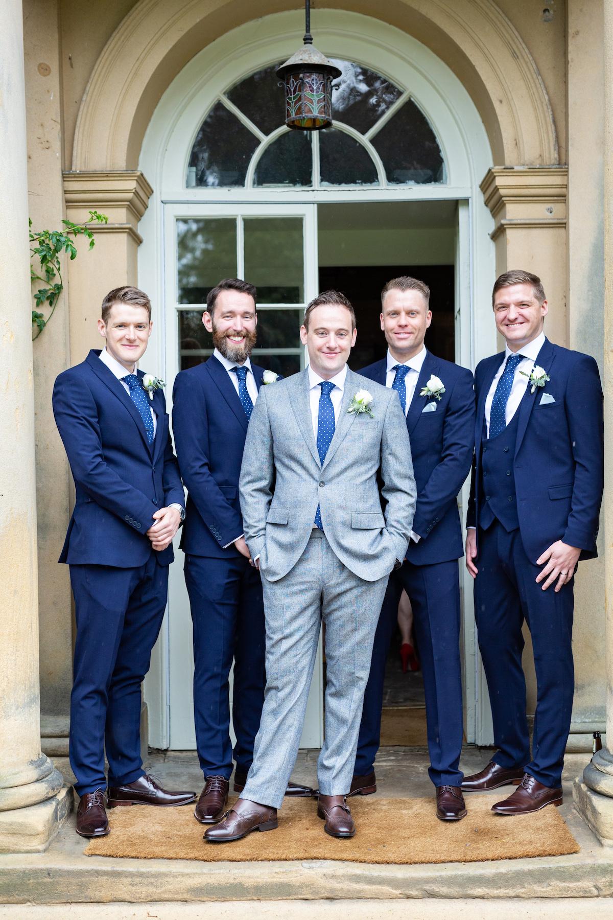 Middleton Lodge Wedding Photographer, Wedding flowers middleton lodge, groom