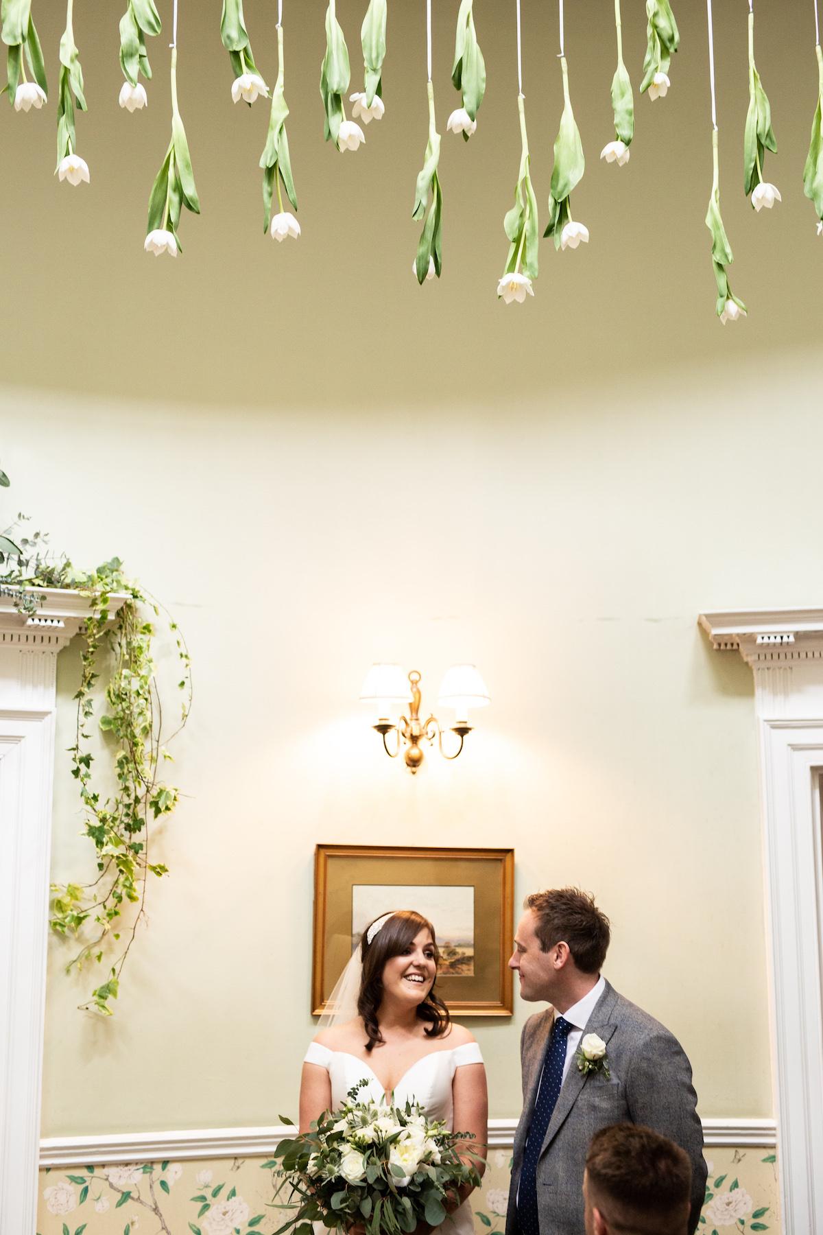 Middleton Lodge Wedding Photographer, Wedding flowers middleton lodge, wedding ceremony