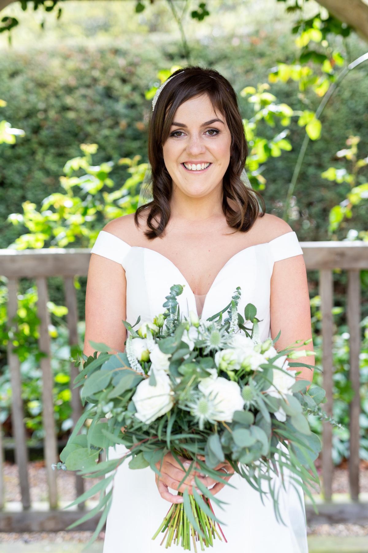 Middleton Lodge Wedding Photographer, Wedding flowers middleton lodge, wedding reception, bride portraits