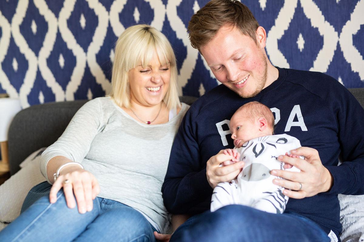 Newborn shoot Yorkshire, harrogate family photographer