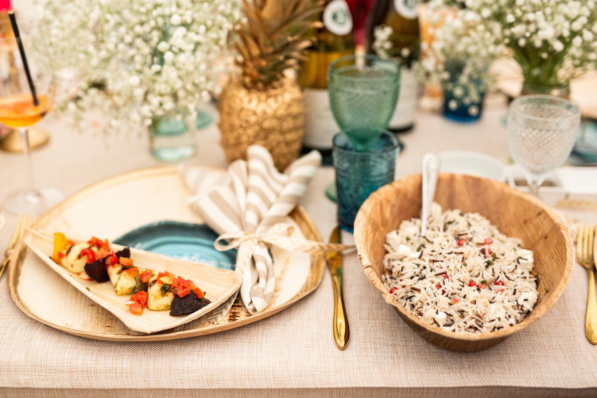 mexican food Garden Wedding