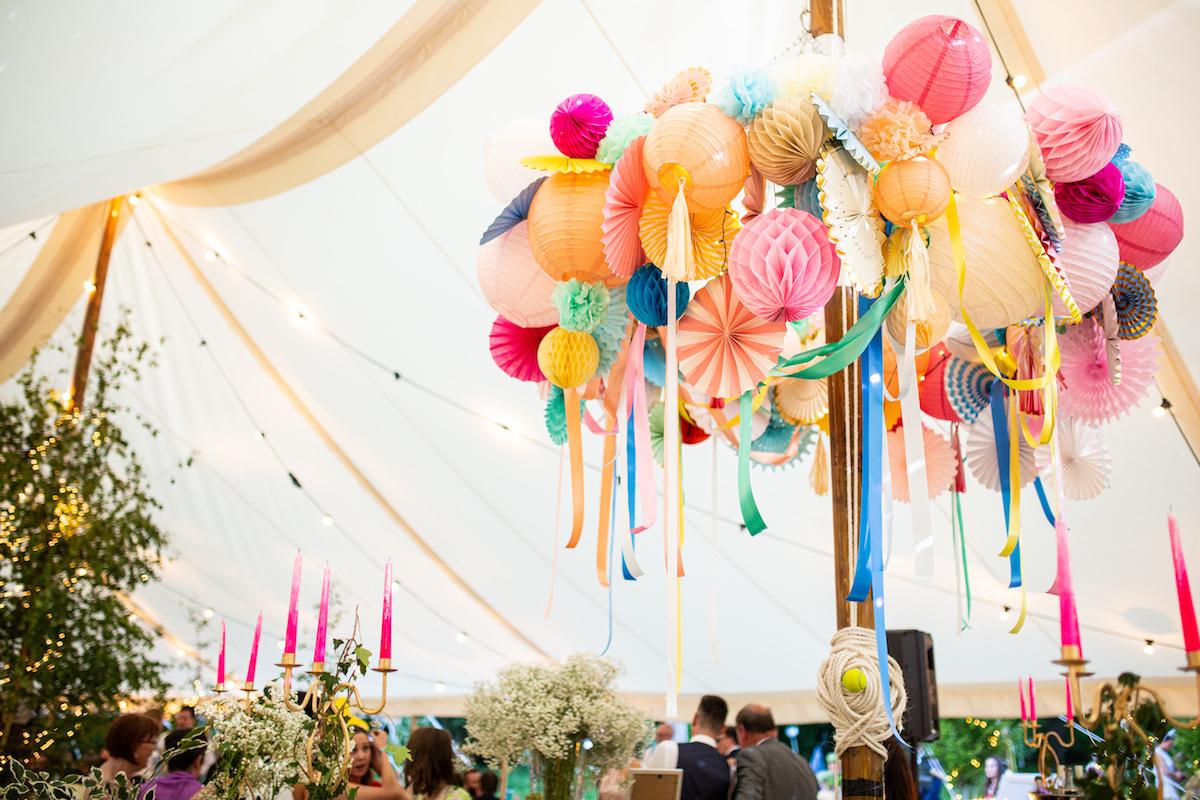 Boho Garden Wedding bunting