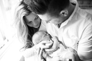 Leeds Newborn Photography: Baby Hugo