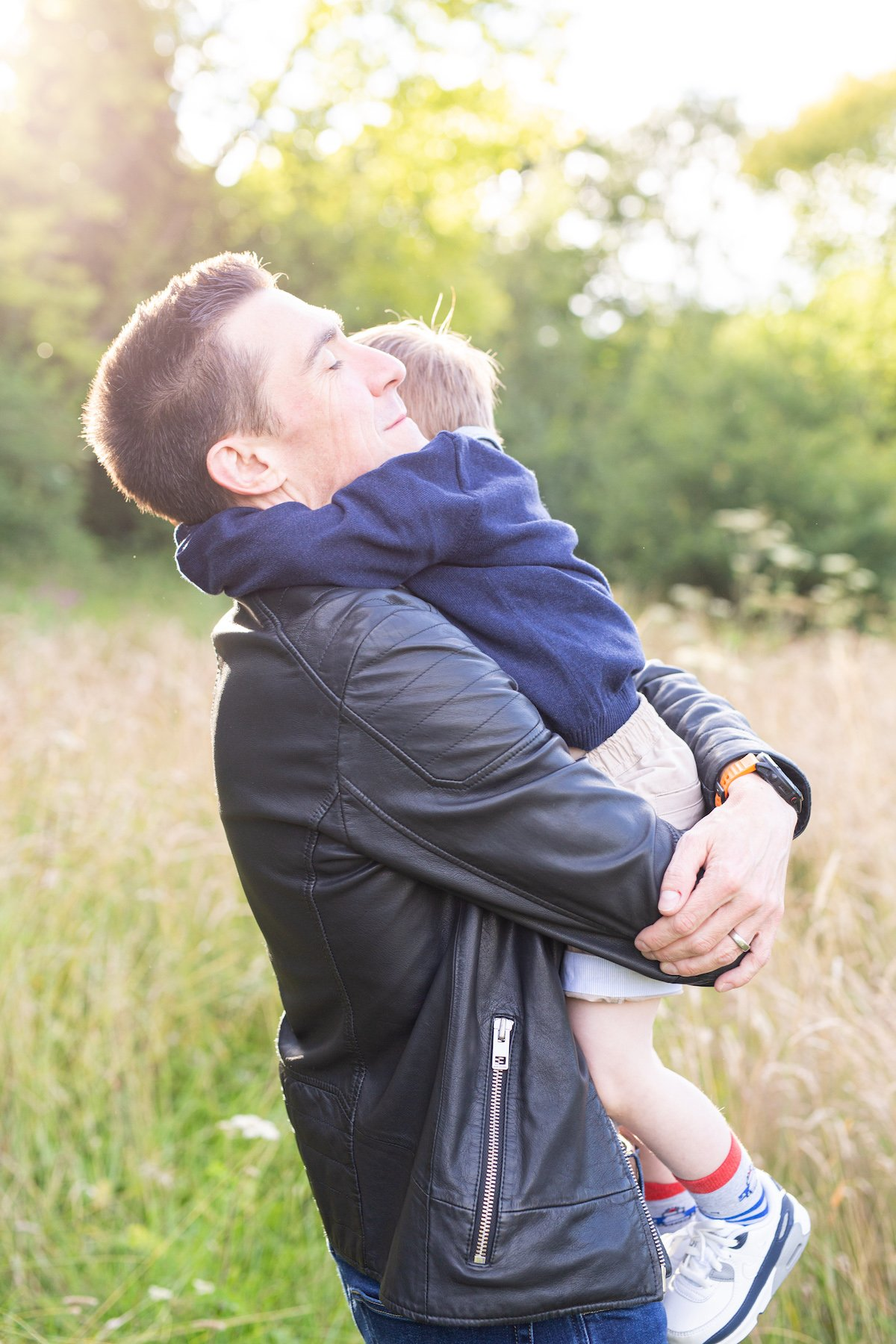 dad and son photography