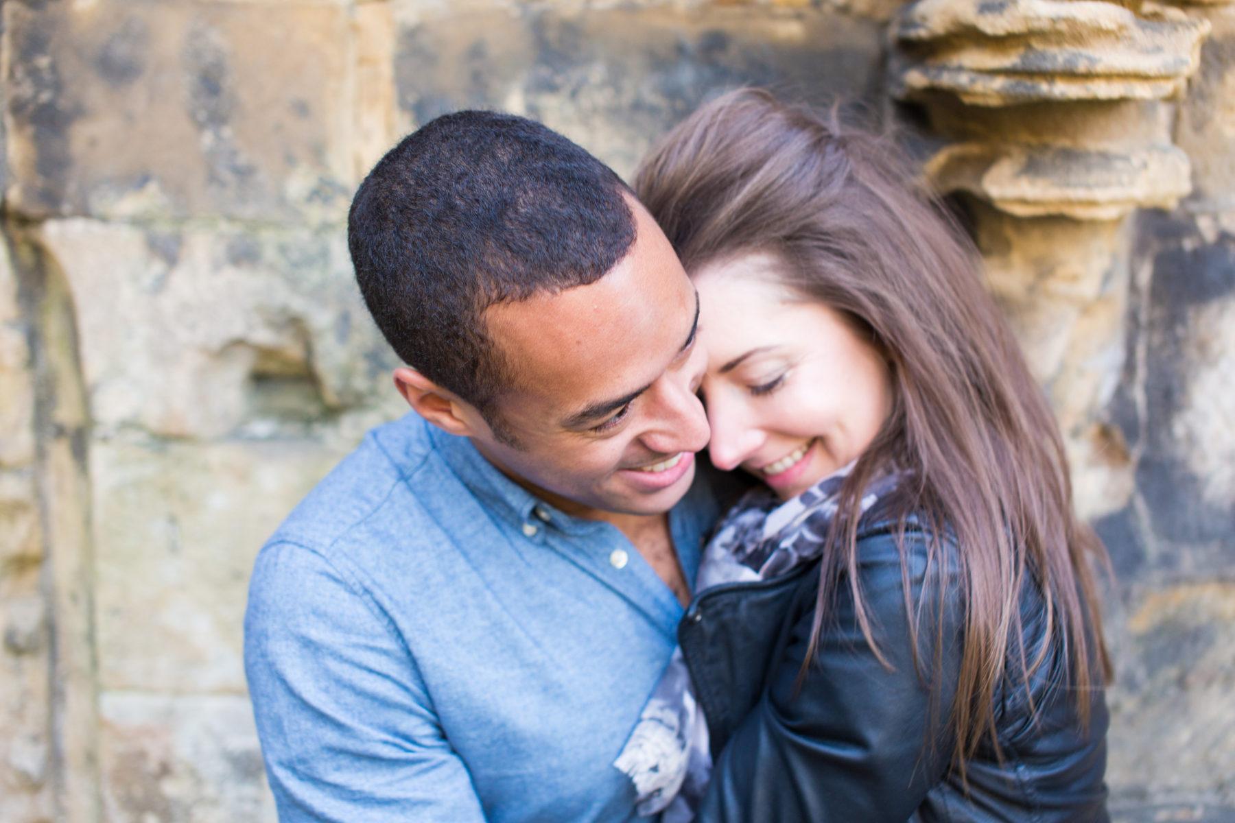 Kirkstall Abbey Engagement: Leo & Gini