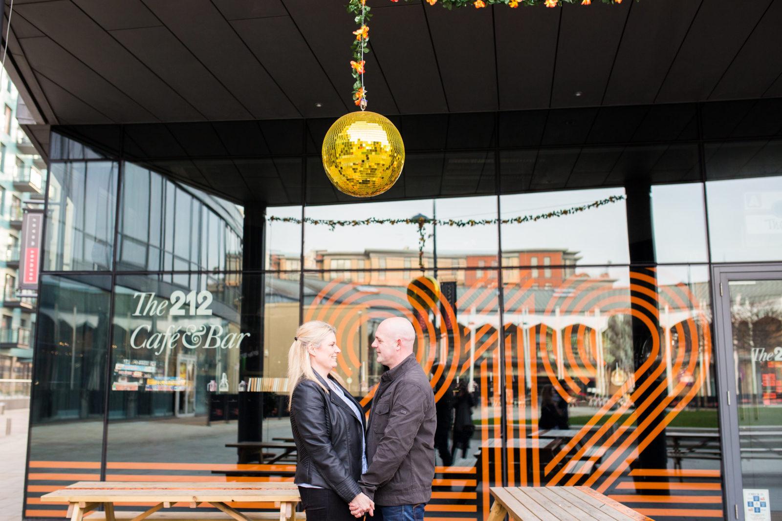 Leeds City Centre Engagement Shoot : Rich & Rachel