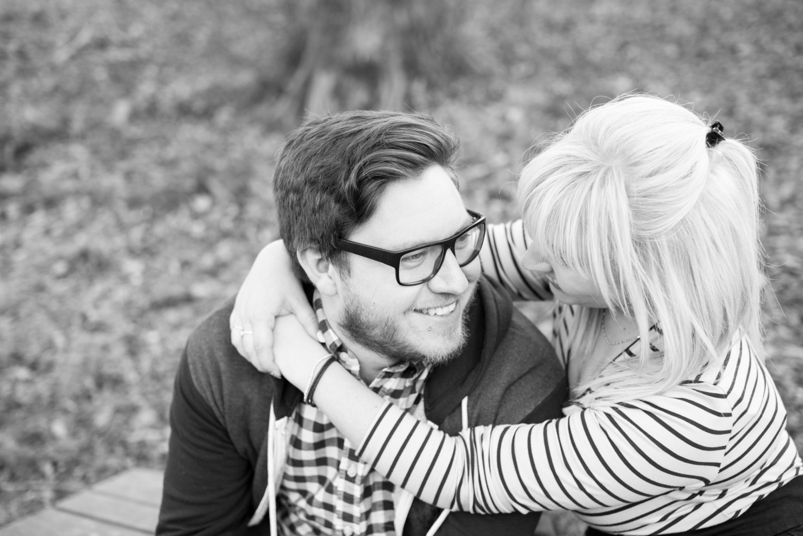 Roundhay Park Engagement Shoot: Sean and Laura