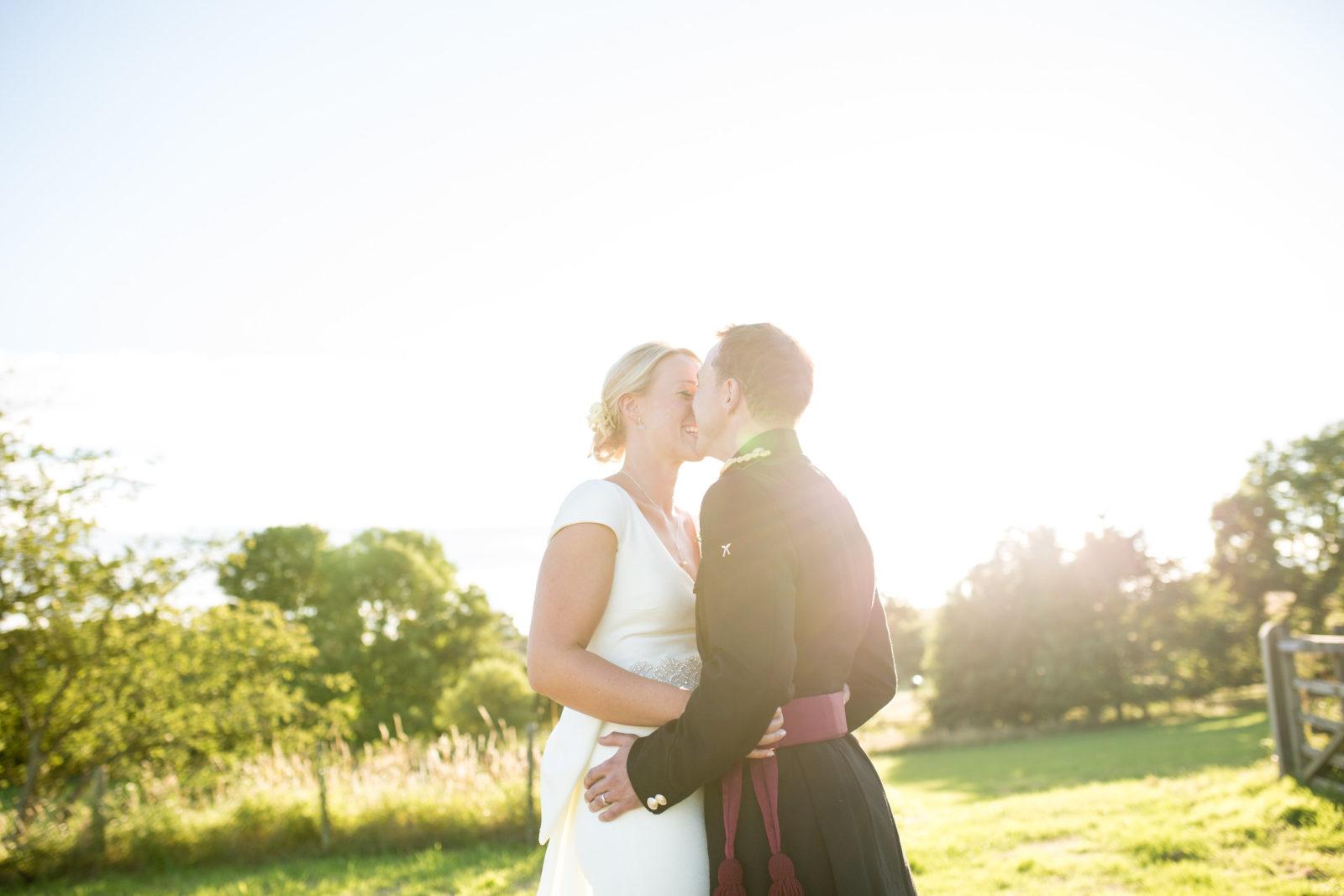 Marquee garden wedding : Ben and Emma