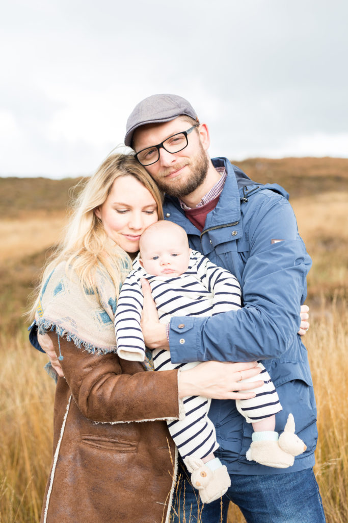 Family shoot cow and calf
