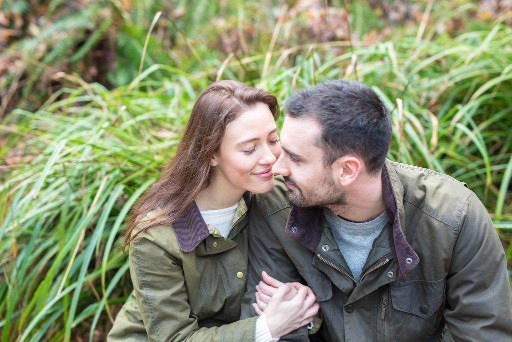 Roundhay engagement shoot