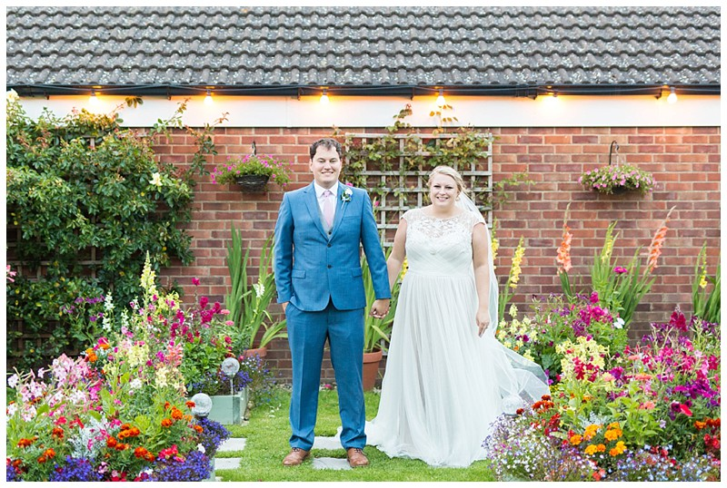 Yorkshire Garden Wedding : Matt & Emily