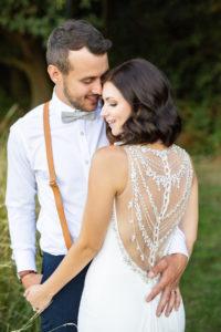 Garden  Tent Wedding: Lloyd & Katie