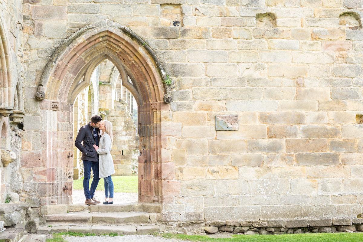 bolton Abbey engagement shoot