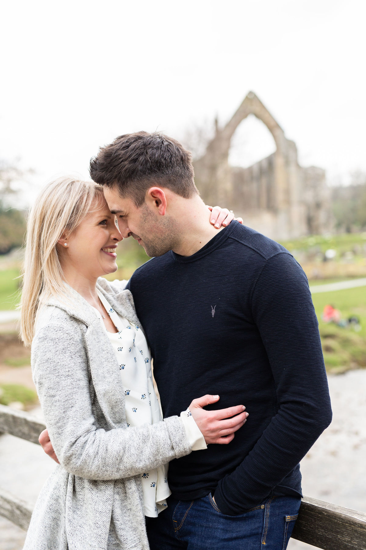 bolton Abbey engagement shoot