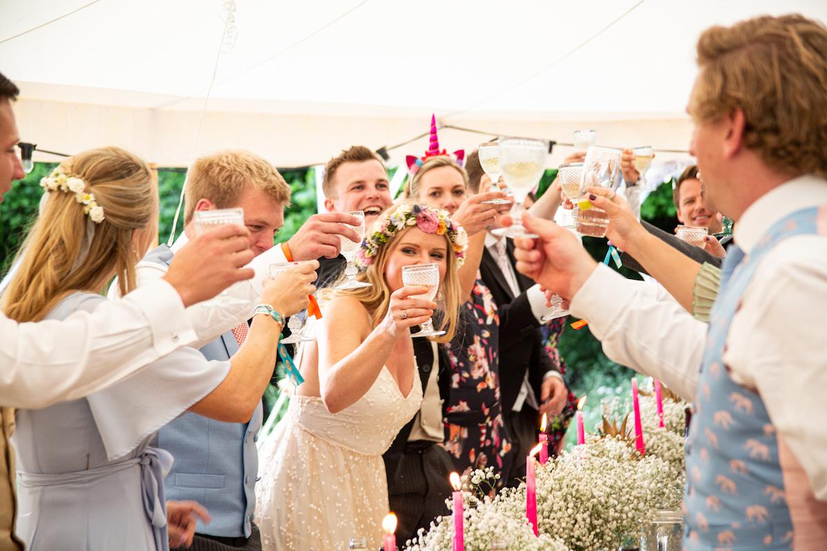 Boho Garden Wedding speeches