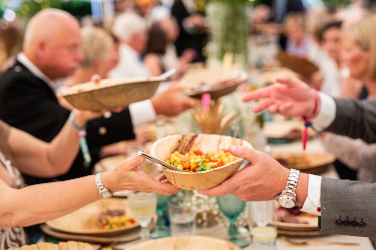 Boho Garden Wedding mexiacan food