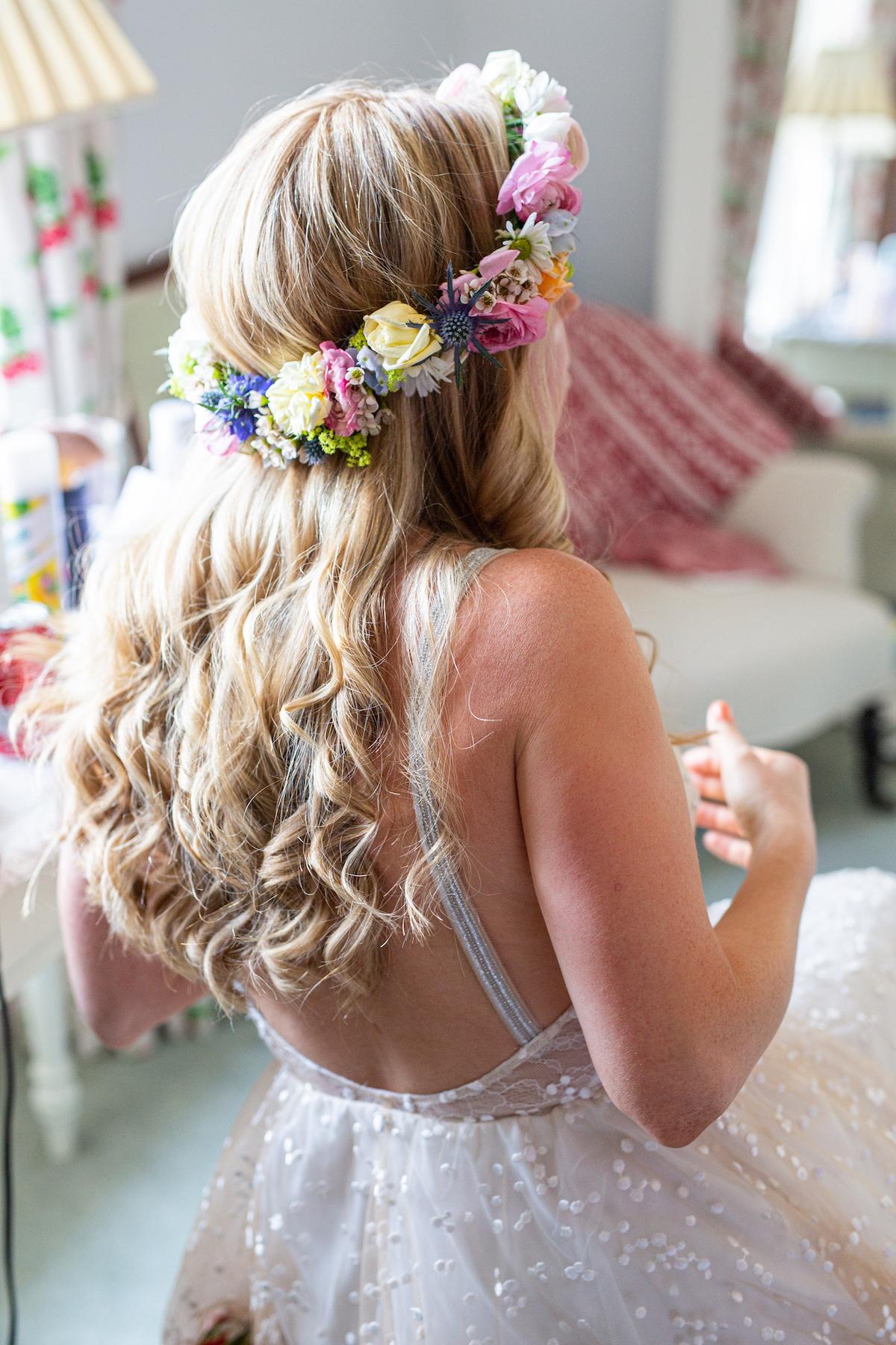 Boho Garden Wedding gracey loves lace dress