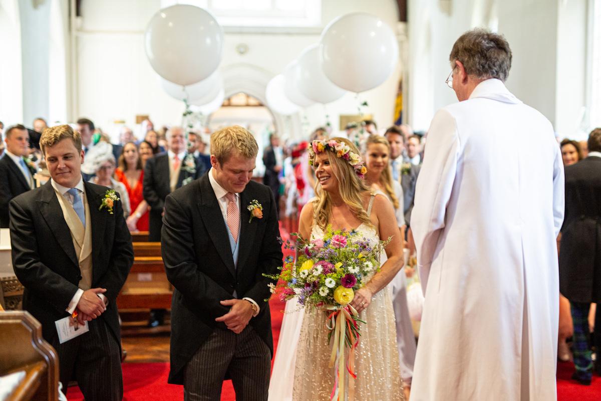 Boho Garden Wedding vows