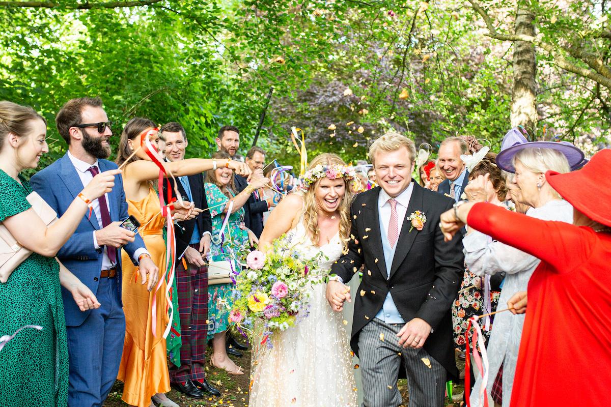 Boho Garden Wedding confetti