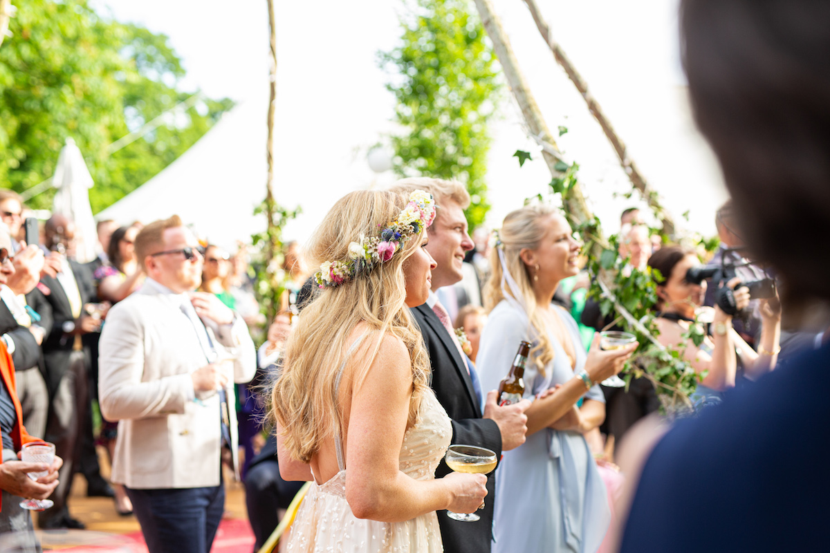 Boho Garden Wedding speeches