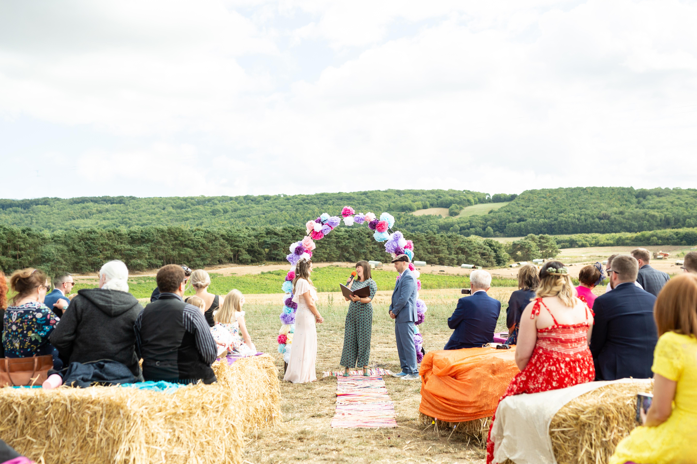 Tipi wedding York