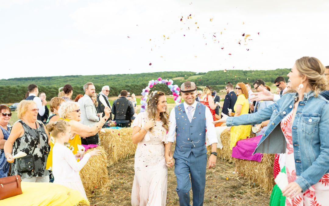 Tipi Wedding: Jonny & Sammi