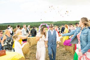 Tipi Wedding: Jonny & Sammi